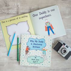 Personalised Daddy Is Brilliant Book by Lou Brown Designs, the perfect gift for Explore more unique gifts in our curated marketplace. 65th Birthday Party Ideas, Birthday Parties, Daddy Gifts, Gifts For Father, Simple Wedding Invitation Wording, Father's Day Celebration, Multiplication For Kids, Personalized Books, Fathers Day Cards