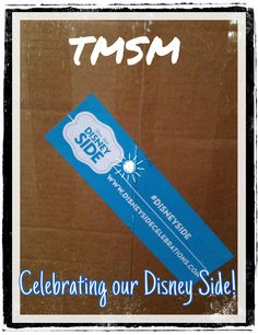 Ooh! What's in the box??? #DisneySide