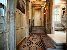 MEAS Vintage: The Project - All fasten your seatbelts ! Revival Architecture, Architecture Details, Meas Vintage, Kitchen Hearth Room, Wooden House Decoration, Bronson Pinchot, Timber Logs, Steampunk House, Herd