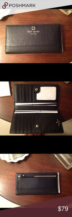 New Kate Spade Southport Ave. Wallet Brand new, never used . Flawless condition. Took it out of the original packaging to take photos to post.  Plenty of room for credit cards!! kate spade Bags Wallets