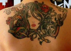 I would like a medusa as lovely and and equal in originality and artistry