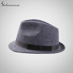 Autumn Winter Feamle Fedora Hats Europe woolen with women British Trilby Hat Fashion Wool Felt Hat Who like it ? #shop #beauty #Woman's fashion #Products #Hat