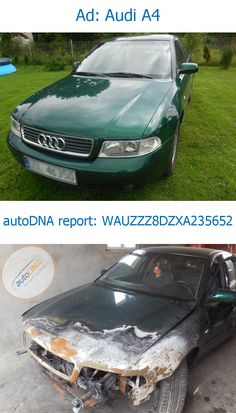"""Car presented today hasn't changed so dramatically as some others showed in the past. It was only """"refreshed"""" by the seller. We guess that he wanted his car to deserve the honor to be called """"beautiful audi"""" :)"""