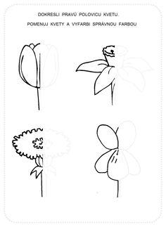 Art Worksheets, Preschool Worksheets, Mazes For Kids, Art For Kids, Spring Activities, Activities For Kids, Maternelle Grande Section, Language Lessons, Printable Crafts