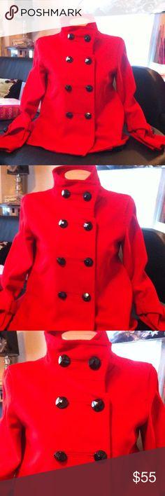 Zara pea coat Pre luved Zara Jackets & Coats