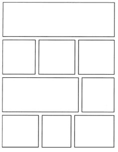 Free Printable Superhero Comic Book Templates  And This Blogger