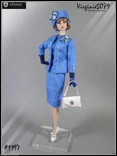 Tenue Outfit Accessoires Pour Fashion Royalty Barbie Silkstone Vintage 1197 | eBay