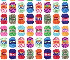 yarns fabric by lisahilda on Spoonflower - custom fabric