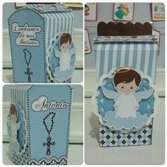 Caixa Anjo Batizado by Oliver Festas Infantis