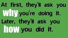 """""""Primeiro, vão perguntar-te PORQUE o fazes. Depois, vão perguntar-te COMO o fizeste."""" Podes crer! E vejo isso todos os dias desde que comecei a trabalhar a partir de casa. Por isso, se ainda estás à espera de começar a mudar a tua vida por causa do que as outras pessoas dizem, pára de esperar. Só estás a perder dinheiro, porque cada minuto que não estás no negócio é dinheiro que podias estar a ganhar e não estás. Clica no link para receberes informações por email…"""