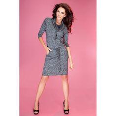 Rochie sport-casual de culoare gri cu buzunare Dresses For Work, Casual, Fashion, Moda, Fashion Styles, Fashion Illustrations
