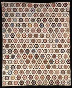 Pieced Quilt 1861          Mary Anne Jefferson Healy          Born: Round Hill, Nova Scotia, Canada 1847    Died: Minneapolis, Minnesota 1928    muslin and calico    74 x 81 in. (188.0 x 205.7 cm)    Smithsonian American Art Museum