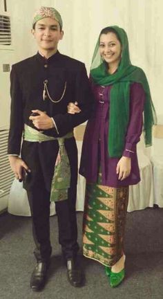 Betawi Jakartan Traditional Clothes
