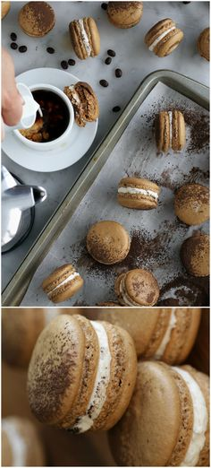 Get Into These Macchiato Macarons Because They're So Cute
