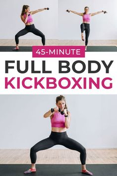 Mix up your home workouts with this BARRE BOXING fusion workout! This workout combines the best barre exercises with calorie-burning kickboxing, for an effective total body workout you can do at home! #kickboxing #kickboxinghomeworkout #homeworkout #cardiohiit #hiitcardio Home Boxing Workout, Cardio Boxing, At Home Workouts, Body Workouts, Kids Workout, Quick Workouts, Cardio Fitness, Fitness Fun, Cardio Workouts