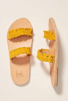 Yellow Peach Mens and Womens Light Weight Shock Proof Summer Beach Slippers Flip Flops Sandals