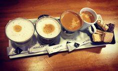 I love coffe!!!! #coffe #milk #sugar #friends #moments #coffeetime #canaryislands by arqueohelen