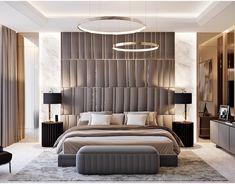 Beige Bedroom on Behance - Home Design Inspiration Modern Luxury Bedroom, Luxury Bedroom Furniture, Luxury Bedroom Design, Master Bedroom Interior, Master Bedroom Design, Luxury Home Decor, Contemporary Bedroom, Luxurious Bedrooms, Luxury Bedding