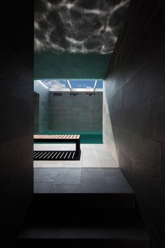 marco castelletti: lake como house    YES, pool with retactable glass roof! Bring it on!