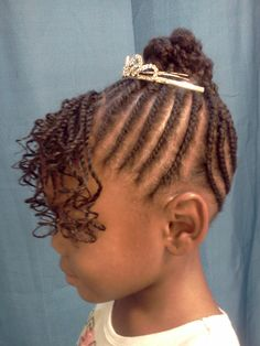Perfect birthday hairstyle!