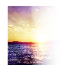 Sunset ❤ liked on Polyvore featuring backgrounds, tubes, effects, sky, psd, borders and picture frame