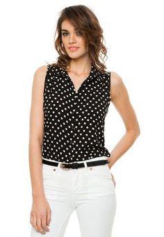 Camisa Negra Vespertine Alexia Vespertine