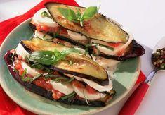 Mille-feuilles de légumes à la mozzarellaVoir la recette du mille-feuilles de légumes à la mozzarella