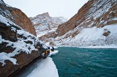 #ChadarTrek is one of the best #winter #trekking #destinations in #Ladakh. Chadar Trek is one of the most #adventurous trek available in #India and is on to do list of all serious trekkers. #himalayas #incredibleindia #nature #snow #travel