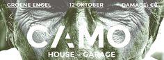 'CAMO'  (deephouse/bass music event)  Logo design / concept / branding