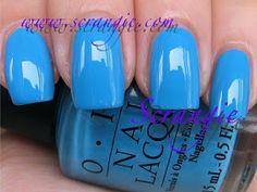 Scrangie: OPI Bright Pair Collection with Paige Premium Denim: Brights 2009
