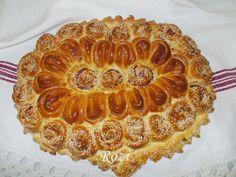Rozi Erdélyi konyhája: Medvehagymás, szalámis kalács Apple Pie, Easter, Cookies, Desserts, Cukor, Recipes, Food, Yogurt, Kuchen