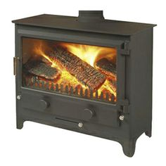The Merlin Widescreen will create the right impression in any home.With its huge glass window, it not only offers everything in looks, it also works without the need to pamper. The super large fire box takes 24 inch logs with minimal fuss, allowing you to relax for hours and enjoy the view. Controlling this stove is simply effortless.