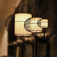 现代新中式吊灯复古铁艺鸟笼灯鸟笼吊灯仿古阳台酒店餐厅灯具灯饰-tmall.com天猫