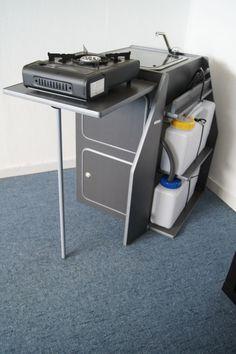 """- Universalmöbel : Küchenblock """"motion"""" classic Bausatz mit Wasseranlage und Spüle"""
