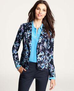 Petite Moody Floral Jacket