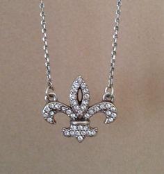 Brighton Fleur de lis Necklace