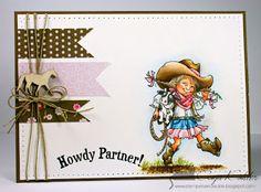 BastelBlog von Anja & Katy: Howdy! * Mo's DP # 184: CAS ... as CAS as you can