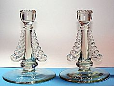 The Web's largest antiques & collectibles mall serving collectors since 1995 Candelabra, Candlesticks, Pot Rack, Beautiful Candles, Vintage Antiques, Candle Holders, Porcelain, Pottery, Fancy