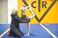 Alisha Dunlap is owner and coach at Cheer Time Revolution gym in Sherwood. It's the center of TLC's cheer perfection.