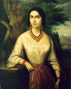 Tablouri de Tattarescu, Gheorghe (1820-1894) Art Database, Mona Lisa, Artwork, Artist, Painting, Image, Style, Portraits, Dress