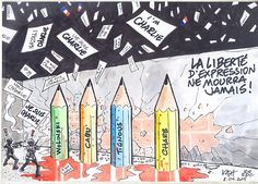 Marche citoyenne en soutien à Charlie Hebdo