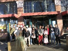 ILI Field Trip lunch stop at Everett & Jones Barbecue at Jack London Square in Oakland