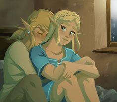 Link and Zelda Legend Of Zelda Memes, Legend Of Zelda Breath, Zelda Drawing, Image Zelda, Botw Zelda, Link Zelda, Science Humor, Twilight Princess, Breath Of The Wild