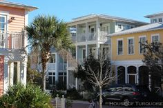House of Turquoise: Turquoise Houses of Seaside, Florida, screened porch