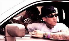 Travis Barker and Swiss Beatz!