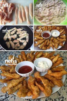 Tavuk Kalamar (Çok Lezzetli) Tarifi nasıl yapılır? 34.506 kişinin defterindeki bu tarifin resimli anlatımı ve deneyenlerin fotoğrafları burada. Yazar: Münevver'in mutfağı My Recipes, Chicken Recipes, Recipies, Breakfast Items, Iftar, Seafood, Food And Drink, Cooking, Decor
