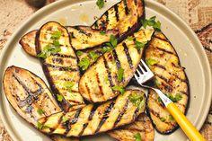 Gegrilde aubergine - Recept - Allerhande