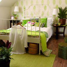 Otthon és dekor: Zöld hálószobák