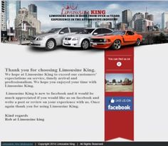 We are proud to reveal our new Thank You Newsletter. If you are a client of Limousine King, you would have received this little treasure in your emails.