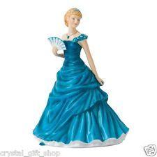 Royal Doulton December Turquoise Birthstone Petite Figurine   eBay